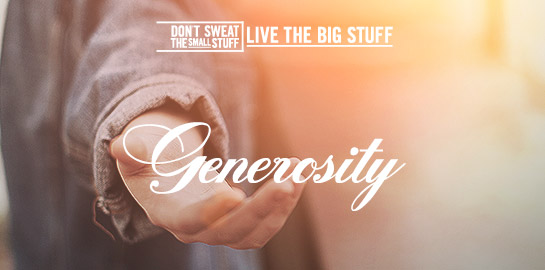 generosity podcast