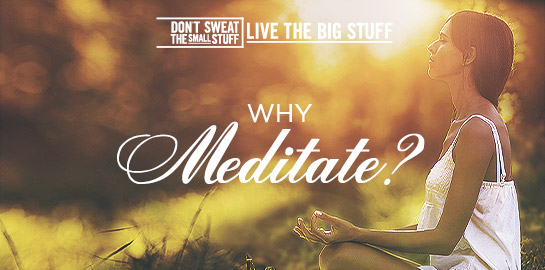 why meditate podcast
