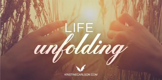 life unfolding blog