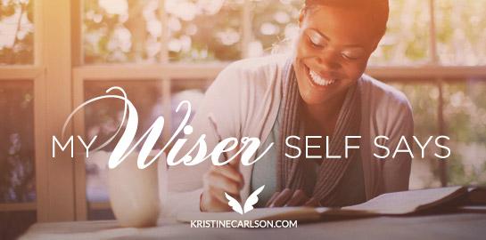 my wiser self says blog