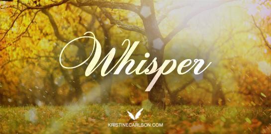 whisper blog