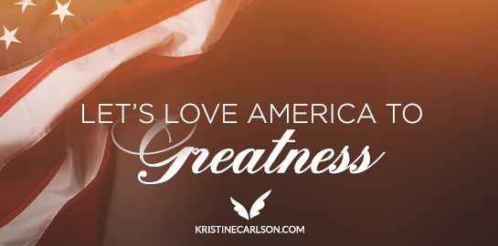 lets love america to greatness blog