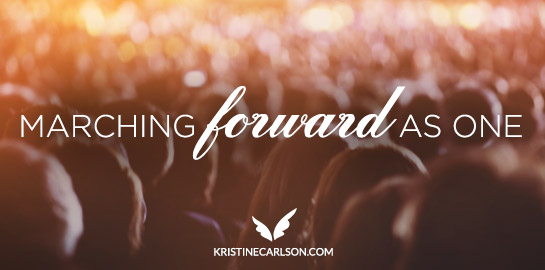 marching forward as one blog