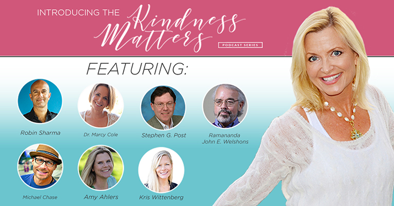introducing the kindness matters podcast series
