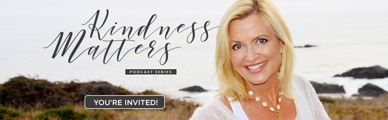 kindness matters podcast series top banner