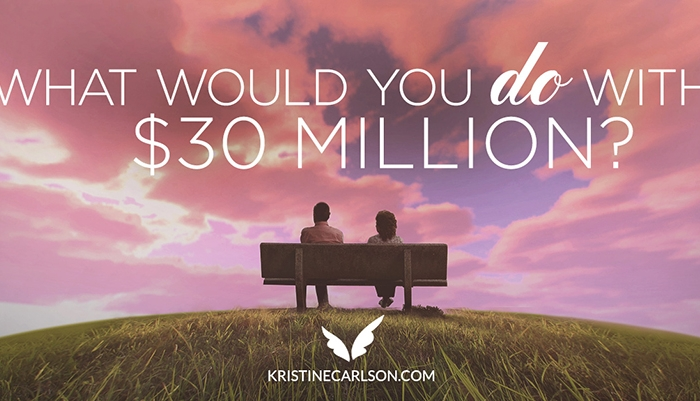 what would you do with 30 million blog