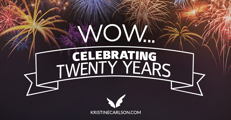 Wow—Celebrating 20 years!