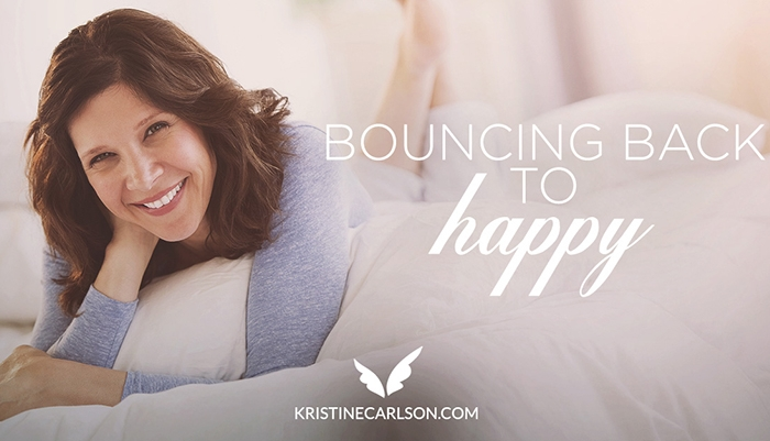 bouncing back to happy blog