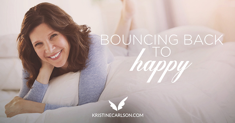 Bouncing back to HAPPY