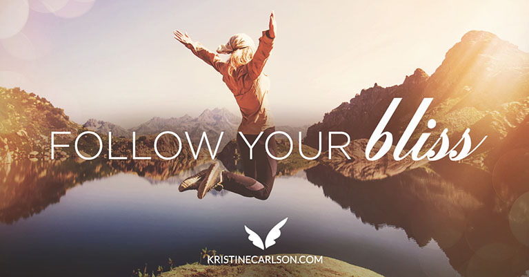 Follow your Bliss blog