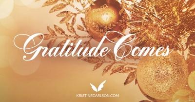 gratitude comes blog