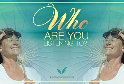 Who are you listening to? blog