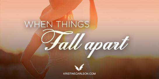 when things fall apart blog