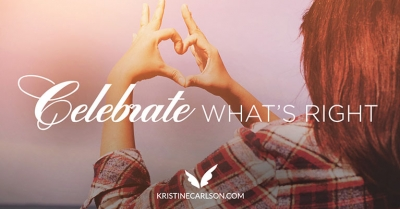 celebrate what's right blog