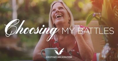 choosing my battles blog
