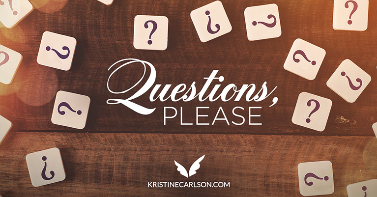 questions, please blog