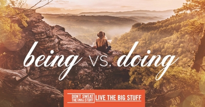 being vs doing podcast