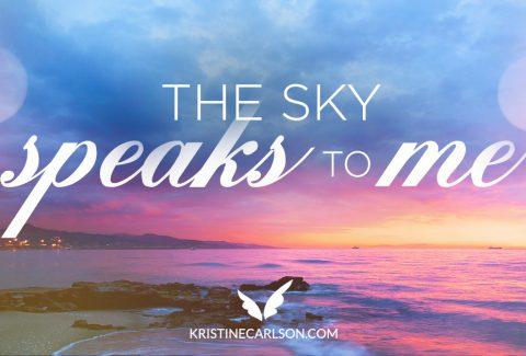 The Sky Speaks to Me blog