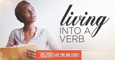 Living Into a Verb Podcast