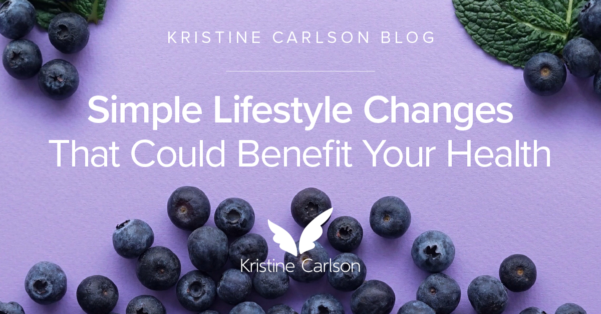 Simple Lifestyle Changes That Could Benefit Your Health Blog